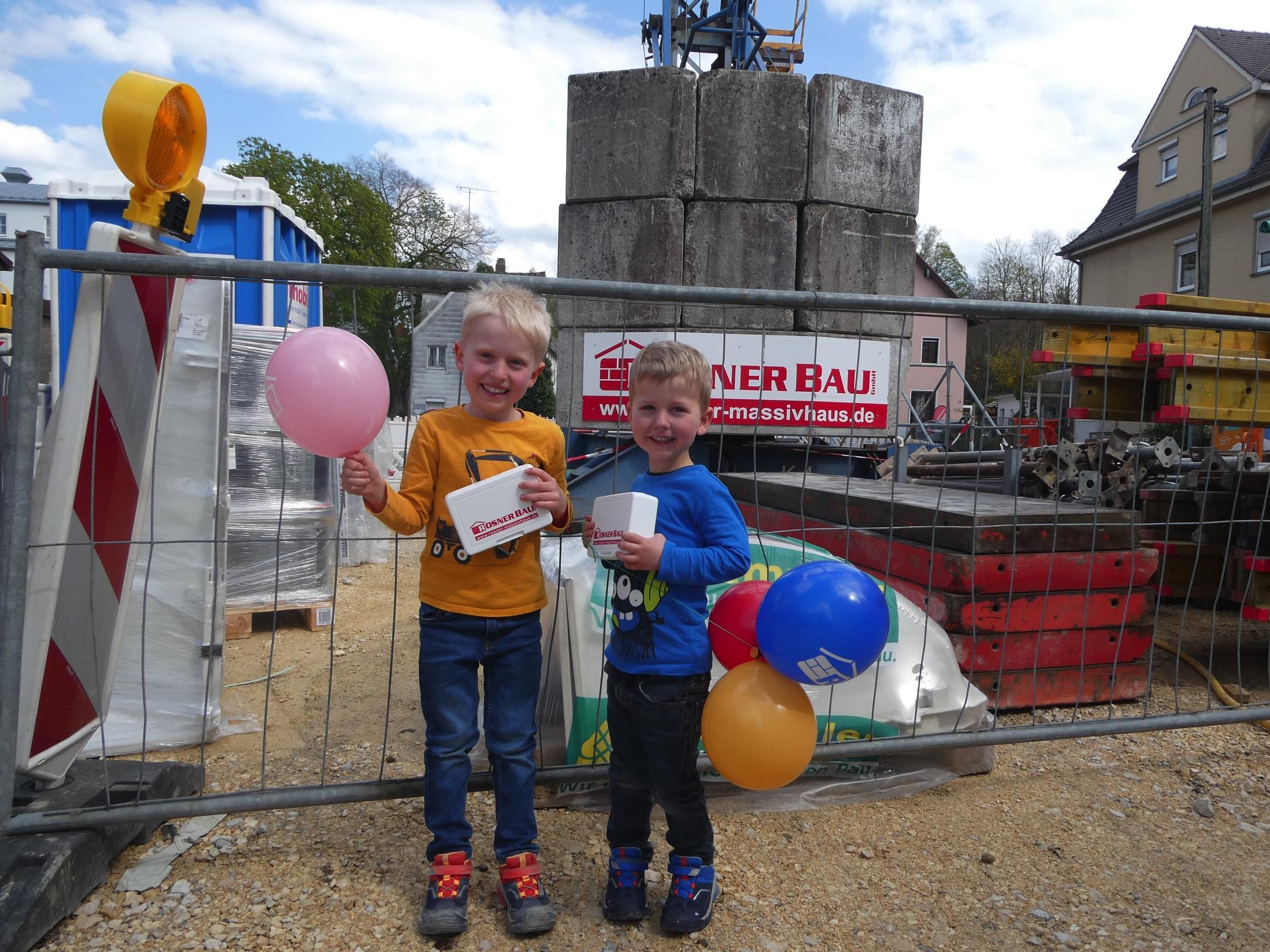 Baustellenbesuch Kindergarten Rosner Bau Gmbh